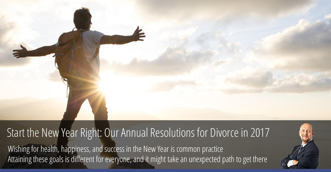 Start the New Year Right: Our Annual Resolutions for Divorce in 2017