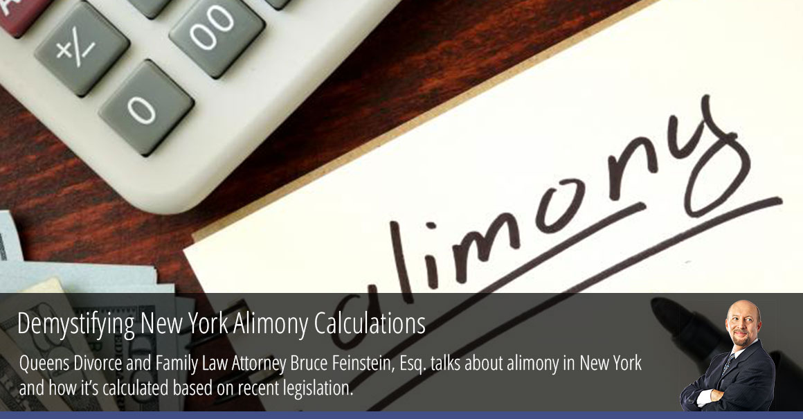 Demystifying New York Alimony Calculations